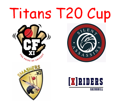 titans t20 cup home